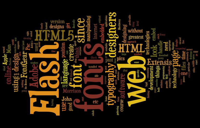 free software creates font art the fontgear blog